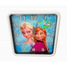 Ana i Elsa zidni deciji sat