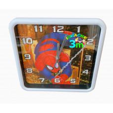Spiderman zidni deciji sat