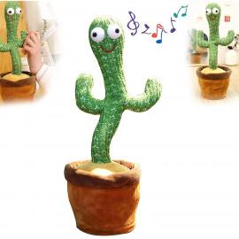 Kaktus koji ponavlja reci I plese