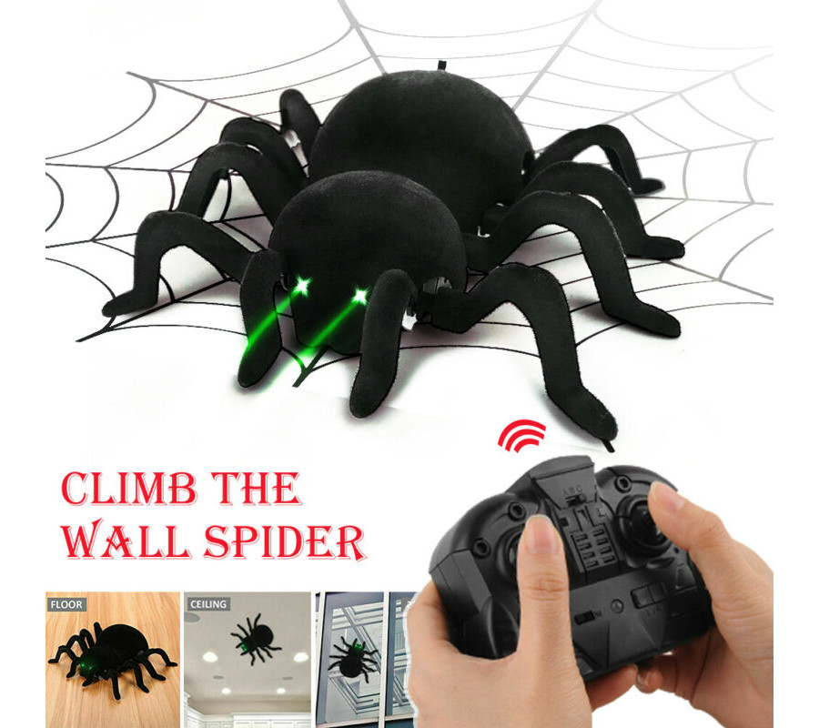 Pauk na daljinski koji ide po zidu