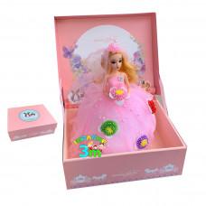 Lutka sa zglobnim tackama u ekskluzivnom pakovanju roze