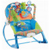 Njihalica i stolicica za bebe plava