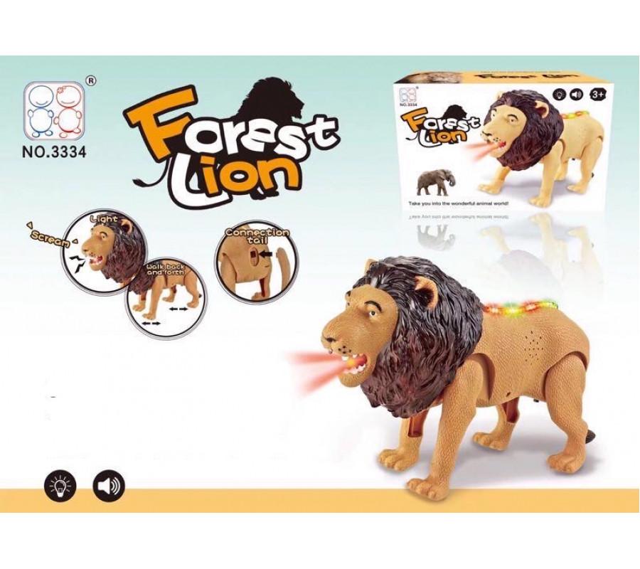 Lav sa zvucnim I svetlosnim efektima
