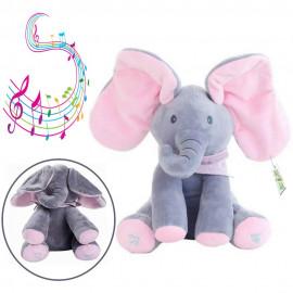 Interaktivni plisani slon Flappy