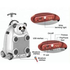 Dečji kofer sa mikrofonom I daljinskim upravljacem - Panda