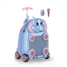 Dečji kofer sa mikrofonom I daljinskim upravljacem - Slon